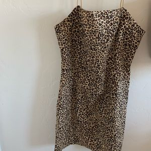 Kendall and Kylie leopard dress